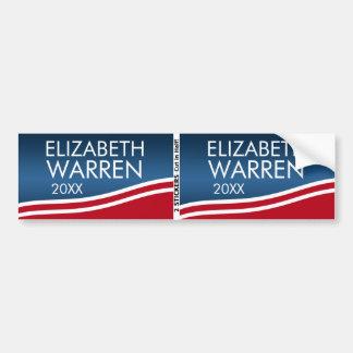 Elizabeth Waren 2020 BOGO Autoaufkleber