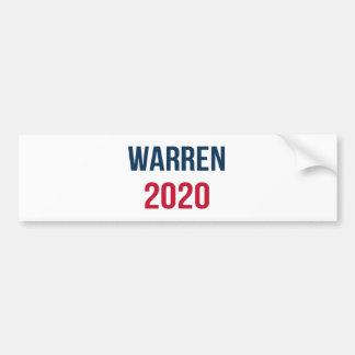 Elizabeth Waren für Präsidenten 2020 Autoaufkleber
