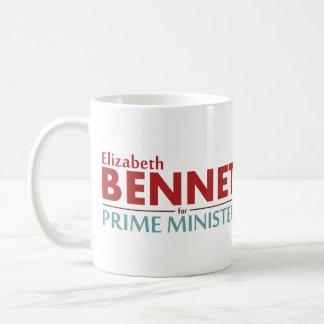 ElizabethBennet für Premierminister Kaffeetasse