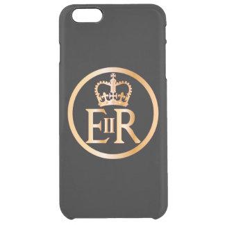 Elizabeths Herrschafts-Emblem Durchsichtige iPhone 6 Plus Hülle