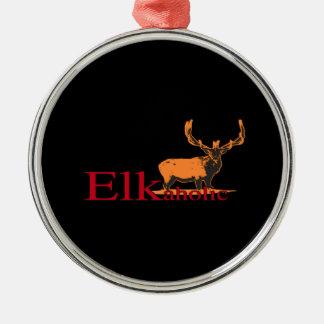 Elkaholic 2 silbernes ornament