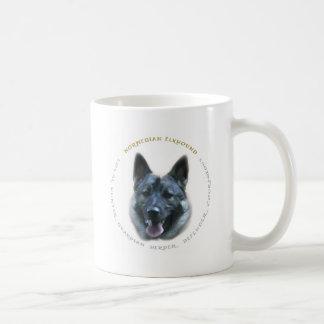 Elkhound Liebe Kaffeetasse