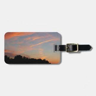 Elkridge Sonnenuntergang-Maryland-Landschaft Gepäckanhänger