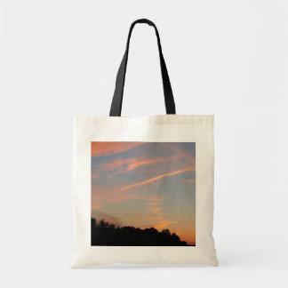 Elkridge Sonnenuntergang-Maryland-Landschaft Tragetasche