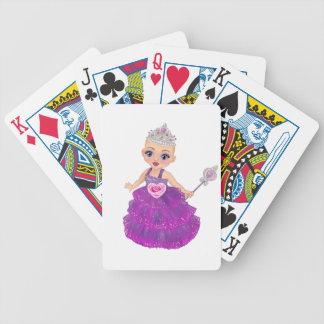 Ella die verzauberte Prinzessin Who Are You? Bicycle Spielkarten