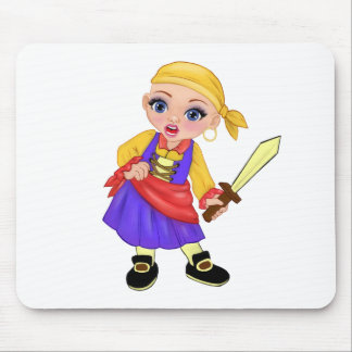 Ella die verzauberte Prinzessin Who Are You? Pirat Mousepad