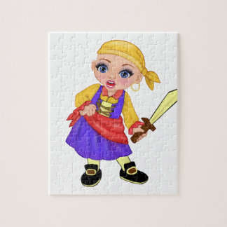 Ella die verzauberte Prinzessin Who Are You? Pirat Puzzle