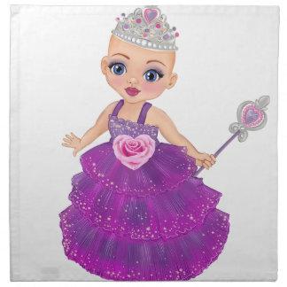 Ella die verzauberte Prinzessin Who Are You? Stoffserviette