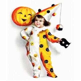 Ellen H. Clapsaddle: Wenig Halloween-Harlekin Foto Ausschnitte