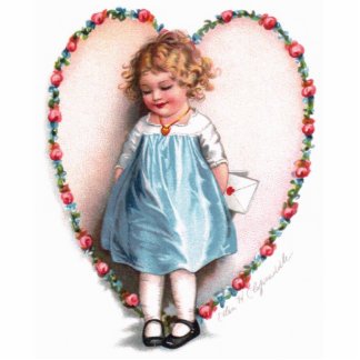 Ellen H. Clapsaddle: Zur einer i-Liebe Acrylausschnitte