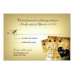 Elles Las- Vegashochzeit UAWG 8,9 X 12,7 Cm Einladungskarte