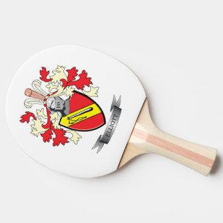 Elliott-Familienwappen-Wappen Tischtennis Schläger