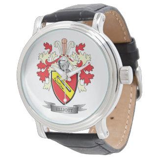 Elliott-Familienwappen-Wappen Uhren