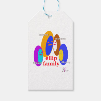 Ellip Familie Collaction - Entwürfe II Geschenkanhänger