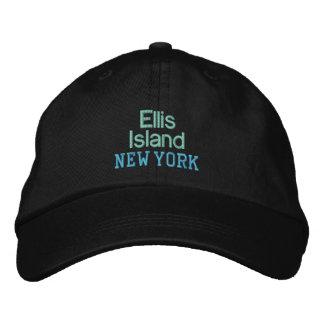 ELLIS- ISLANDkappe Bestickte Kappe