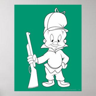 Elmer Fudd Poster