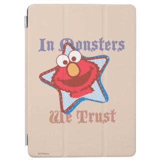 Elmo - auf Monster vertrauen wir iPad Air Hülle