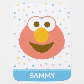 Elmo Baby-großes Gesicht | addieren Ihren Namen Puckdecke