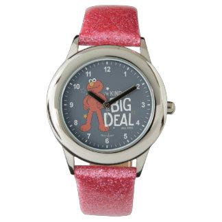Elmo | bin ich ein bisschen eine große Sache Armbanduhr