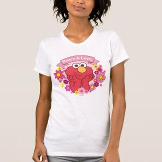 Elmo | Frieden u. Liebe T-Shirt