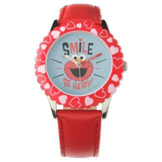 Elmo glückliches Lächeln Uhr