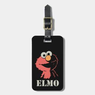Elmo halb kofferanhänger