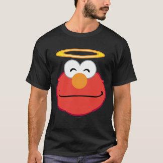 Elmo lächelndes Gesicht mit Halo T-Shirt