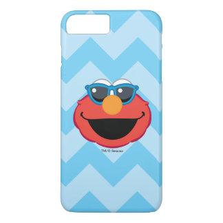Elmo lächelndes Gesicht mit Sonnenbrille iPhone 8 Plus/7 Plus Hülle