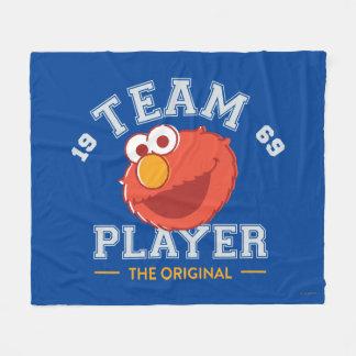 Elmo Mannschaftsspieler 1 Fleecedecke