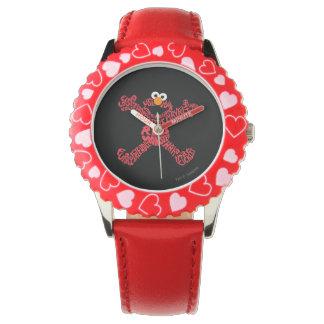 Elmo Muster-Fülle Uhr