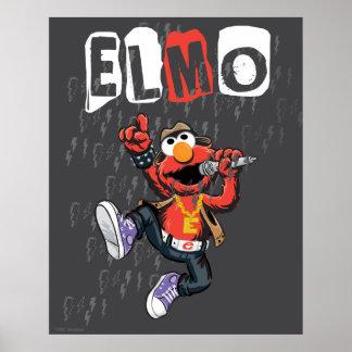 Elmo Rockin heraus Poster