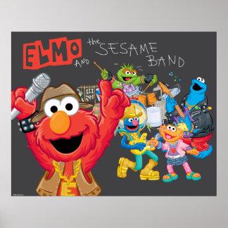 Elmo und das Sesam-Band Poster