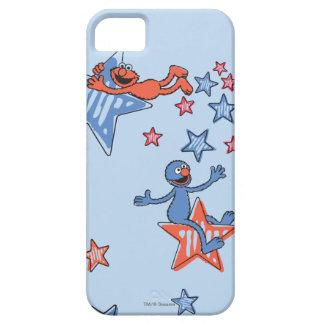 Elmo und Grover unter den Sternen Etui Fürs iPhone 5