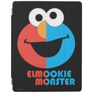 Elmo und Plätzchen-halbes Gesicht iPad Hülle