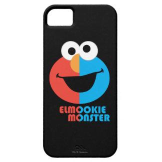 Elmo und Plätzchen-halbes Gesicht iPhone 5 Schutzhülle