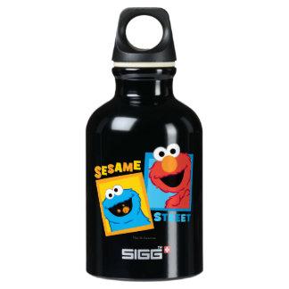 Elmo und Plätzchen-Monster-Freunde Wasserflasche