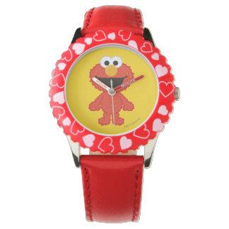 Elmo Wolle-Art Uhr