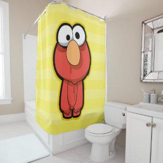 Elmo Zombie Duschvorhang