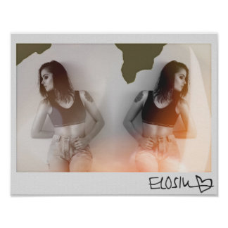 ELOSIN Fotografie-Plakat Poster