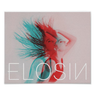 ELOSIN Zwei-Tonte Wand-Plakat Poster