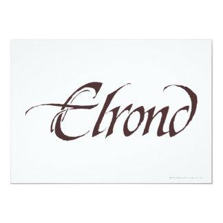ELROND™ Namenskörper Karte
