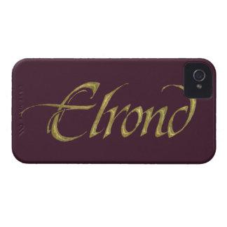 ELROND™ Namensstrukturiertes iPhone 4 Hüllen
