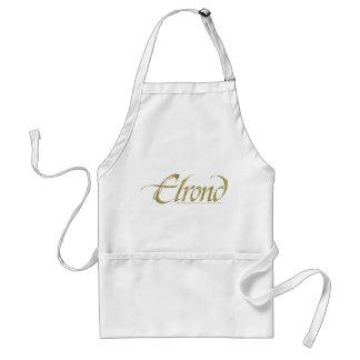 ELROND™ Namensstrukturiertes Schürze