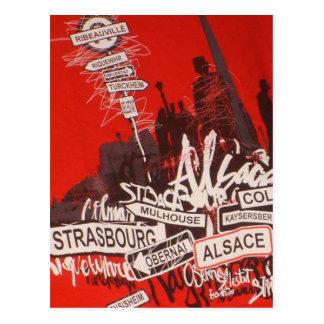 Elsass - postkarten