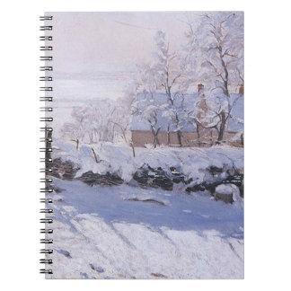 Elster Claudes Monet-The Spiral Notizblock