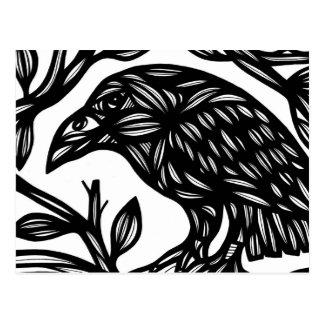 Elster-Vogel Schwarzweiss Postkarten