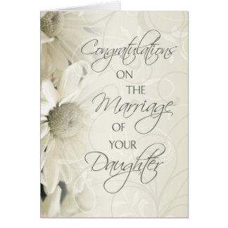 Eltern der Braut-Hochzeits-Glückwunsch-Karte Grußkarte
