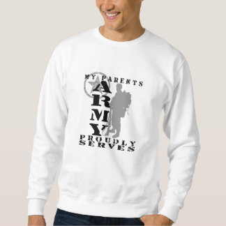 Eltern dient stolz - ARMEE Sweatshirt