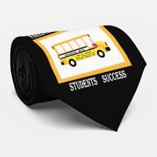 Eltern + Lehrer = Studenten-Erfolg (Schwarzes) Krawatte