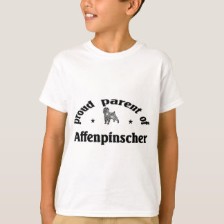 Elternteil eines Affenpinscher-Hundes T-Shirt